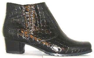 a07cd973f7a Jenny 22-61879 66 black croc synthetic