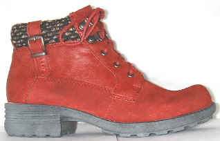 34f3b89a Earth Spirit 'Mobile' scarlet suede/other